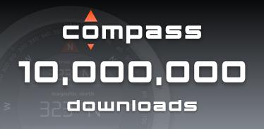 Compass 10,000,000 Downloads